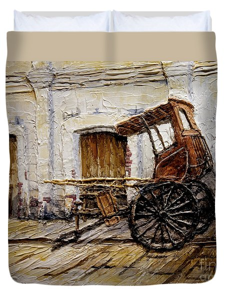 Vigan Carriage 1 Duvet Cover