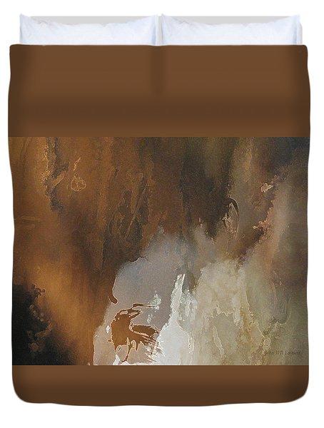 Vii - Mirky Wood Duvet Cover