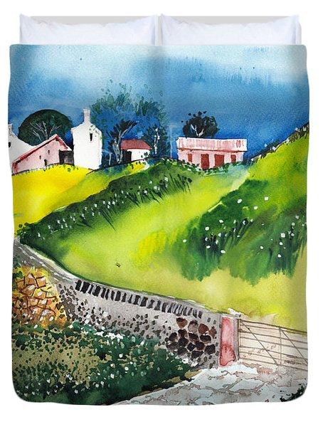Villa Duvet Cover by Anil Nene