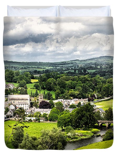 Village Of Inistioge Duvet Cover