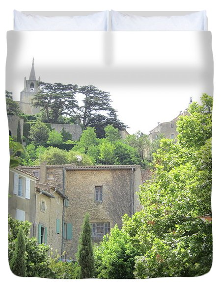 Village View Duvet Cover by Pema Hou