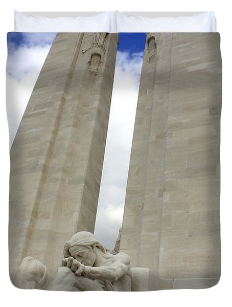 Vimy Ridge Memorial France Duvet Cover