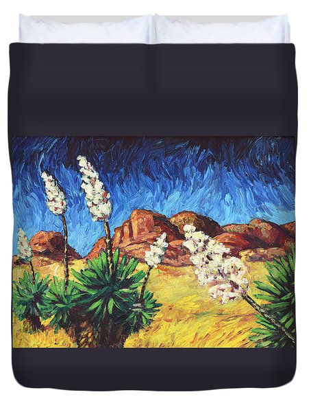 Vincent In Arizona Duvet Cover