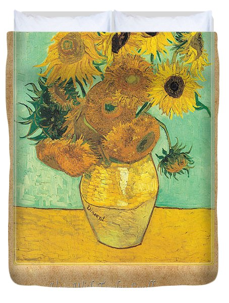 Vincent Van Gogh 2 Duvet Cover by Andrew Fare