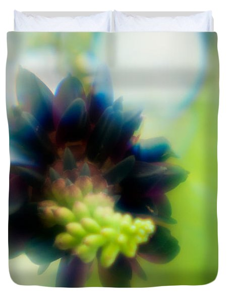 Duvet Cover featuring the photograph Vine 1 by Travis Burgess