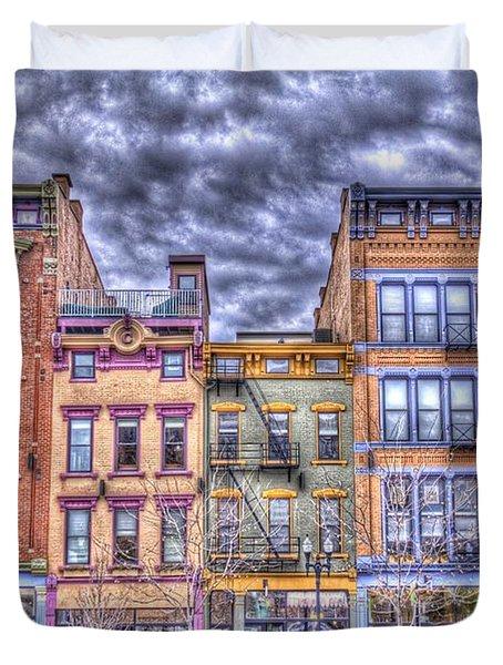 Vine Street Duvet Cover by Daniel Sheldon