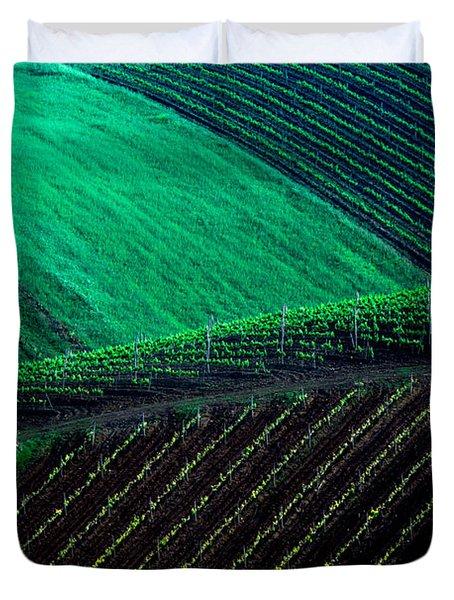 Vineyard 05 Duvet Cover