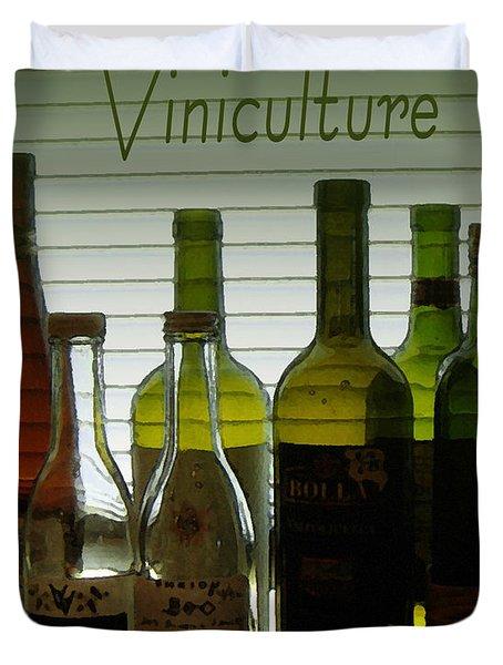 Viniculture  Duvet Cover