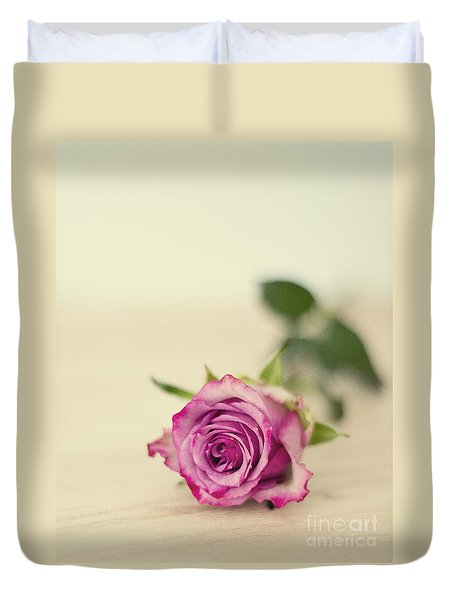 Vintage Chic Duvet Cover by Ivy Ho