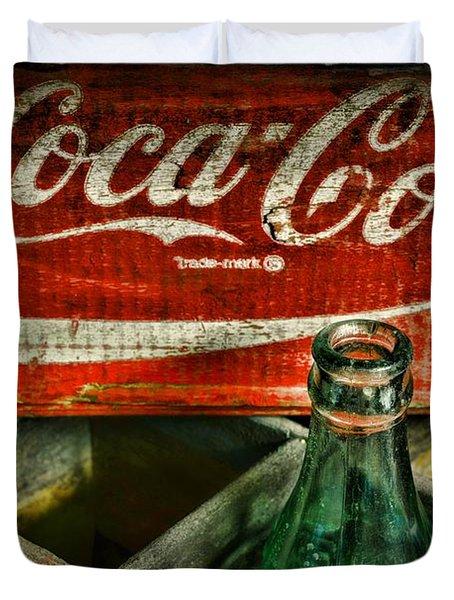 Vintage Coca-cola Duvet Cover