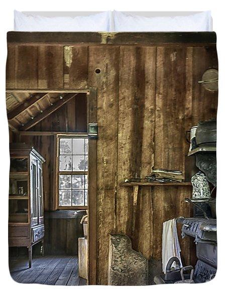 Vintage Cracker Kitchen Duvet Cover by Lynn Palmer