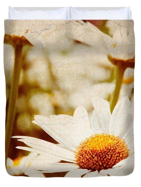 Vintage Daisy Duvet Cover