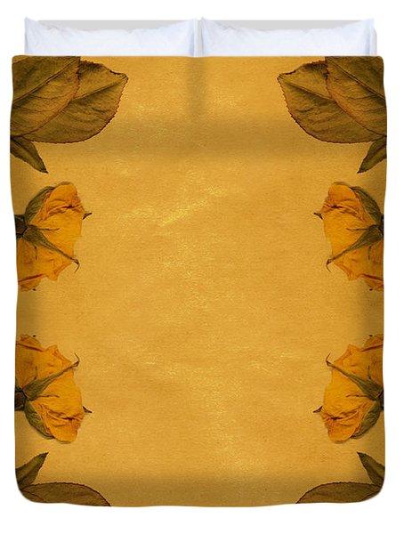 Vintage Flowers Duvet Cover