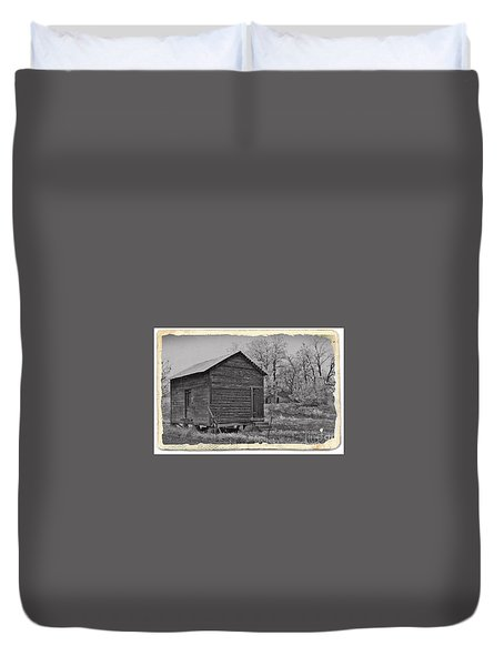 Vintage Frosty Morning 2 Duvet Cover by Chalet Roome-Rigdon