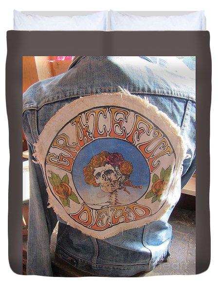 Vintage - Grateful Dead - Fashion Duvet Cover