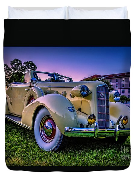 Vintage Lasalle Convertible Duvet Cover by Edward Fielding