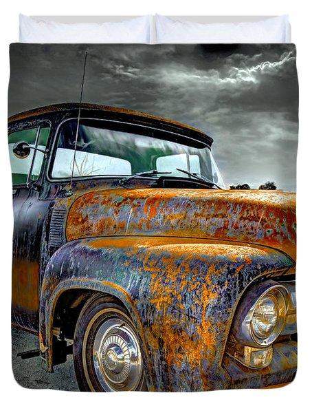 Vintage  Pickup Truck Duvet Cover