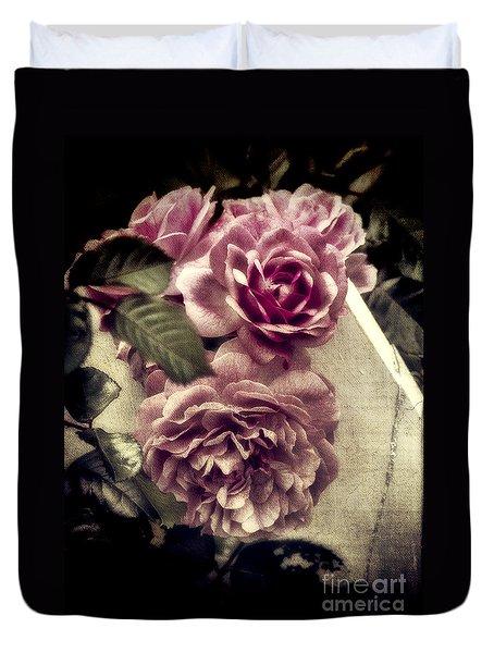 Vintage Pink Sisters Duvet Cover