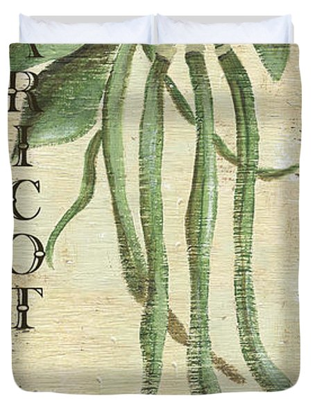 Vintage Vegetables 2 Duvet Cover by Debbie DeWitt