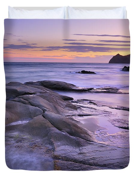 Violet Place Duvet Cover by Guido Montanes Castillo