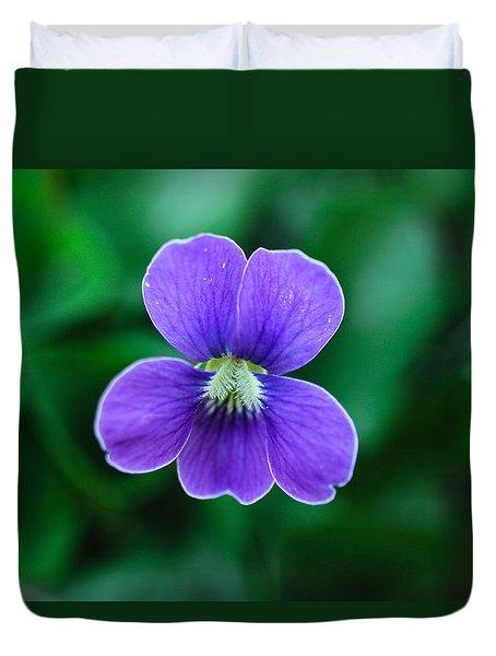 Violet Splendor Duvet Cover