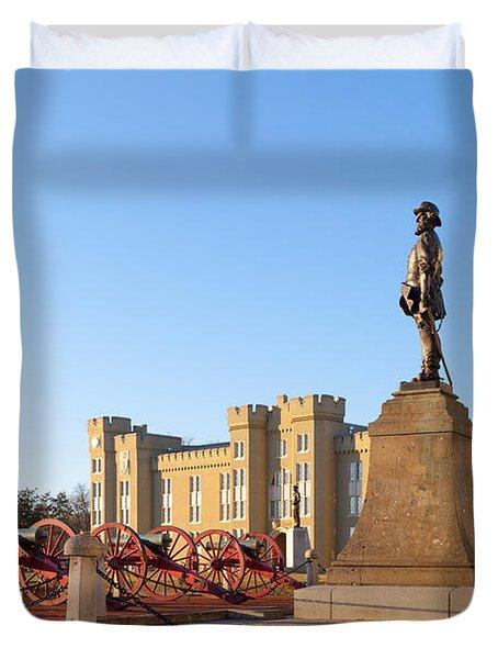 Virginia Military Institute Duvet Cover