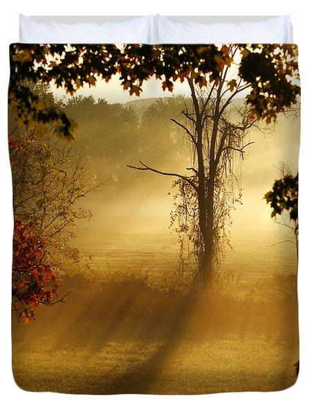 Virginia Sunrise Duvet Cover by Carol Lynn Coronios