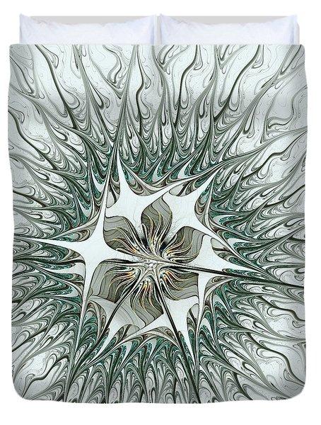 Virus Duvet Cover by Anastasiya Malakhova