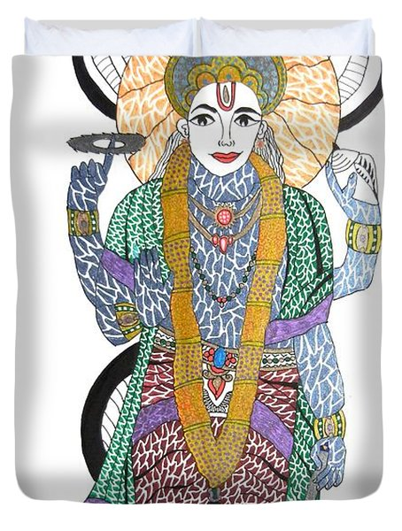 Vishnu II Duvet Cover