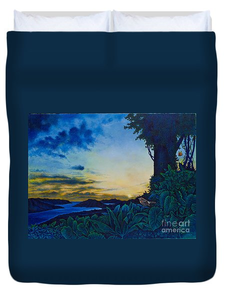 Visions Of Paradise II Duvet Cover