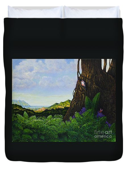 Visions Of Paradise V Duvet Cover