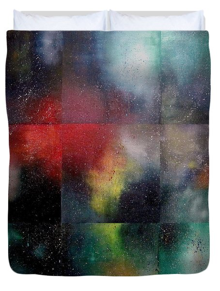 Visions Of Space And Time Duvet Cover by Jeremy Aiyadurai