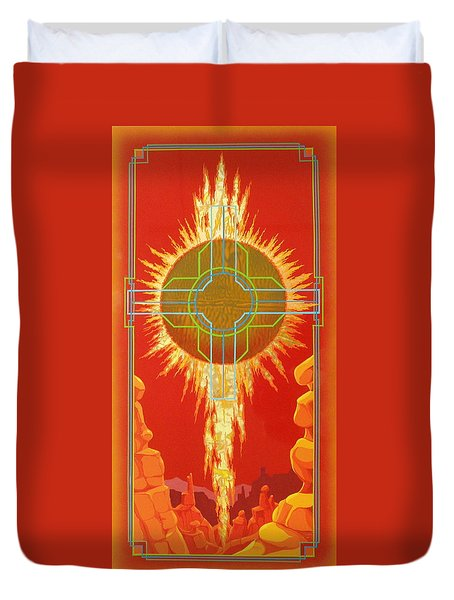 Visitation Duvet Cover