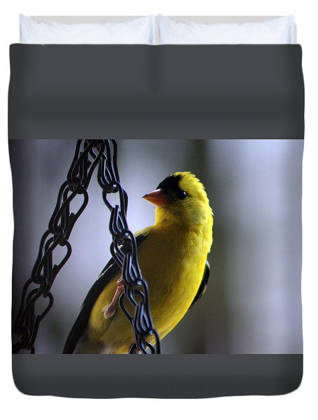 Vistor On A Chain Duvet Cover