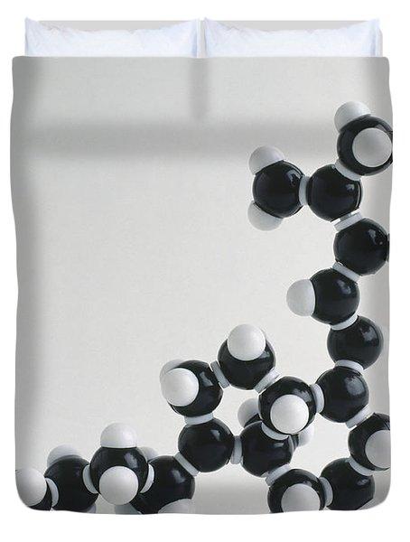Vitamin D, Molecular Model Duvet Cover