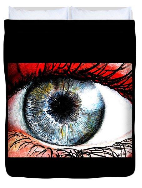 Vivid Vision  Duvet Cover by Tylir Wisdom