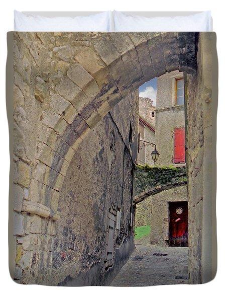 Viviers Alley Duvet Cover