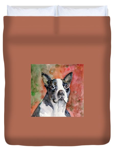 Vodka - French Bulldog Duvet Cover