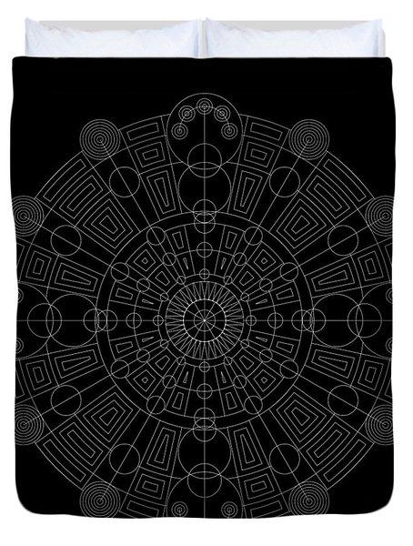 Vortex Inverse Duvet Cover