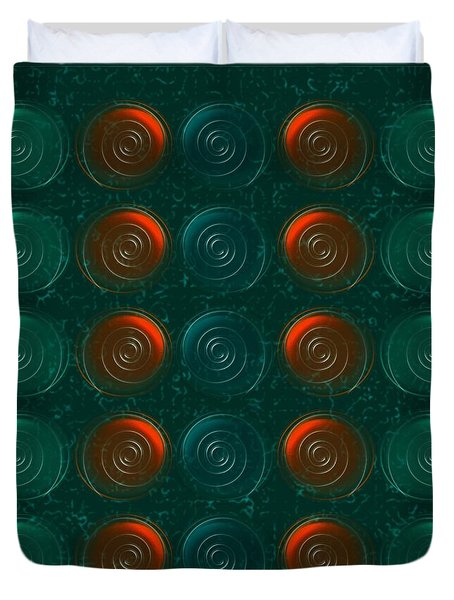 Vortices Duvet Cover by Anastasiya Malakhova