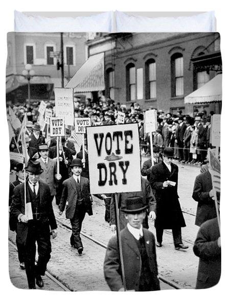 Vote Dry Duvet Cover