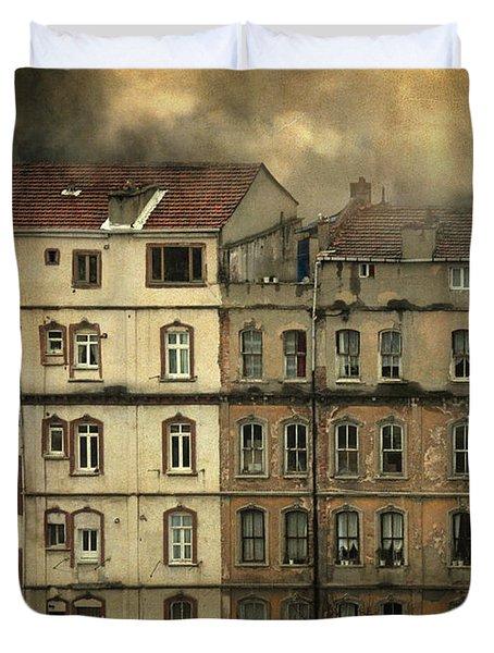 Voyeur Duvet Cover by Taylan Apukovska