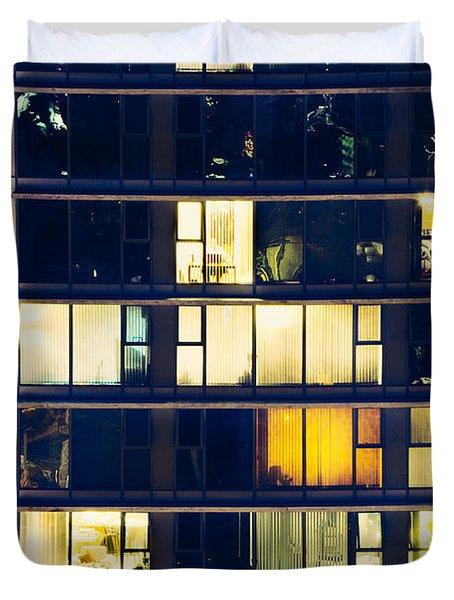 Duvet Cover featuring the photograph Voyeuristic Pleasure Cdlxxxviii by Amyn Nasser