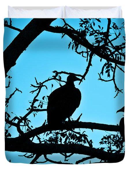 Vultures Duvet Cover