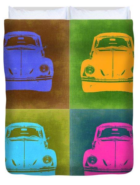 Vw Beetle Pop Art 6 Duvet Cover