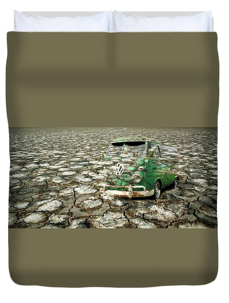 Vw Micro Mirage Duvet Cover by Steve McKinzie