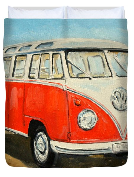 Vw Transporter T1 Duvet Cover