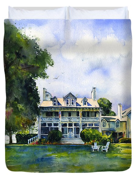 Wades Point Inn Duvet Cover