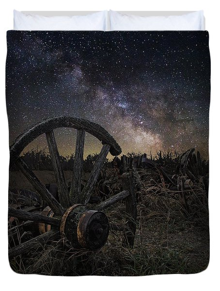 Wagon Decay Duvet Cover