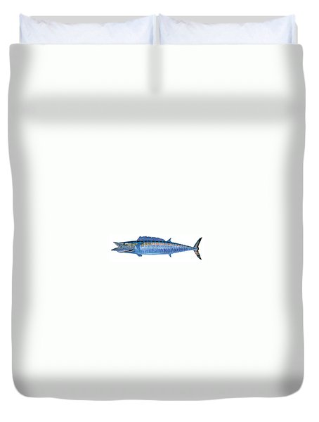 Wahoo Duvet Cover by Carey Chen
